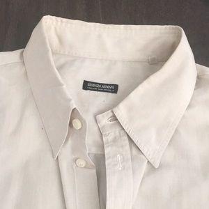 Giorgio Armani Mens Dress Shirt